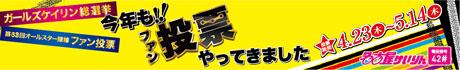 第60回オールスター競輪 ファン投票実施! 4月22日(土)〜5月16日(火)