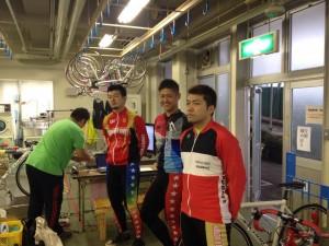 中村、松川、佐方選手です!