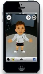 3D合志選手登場!